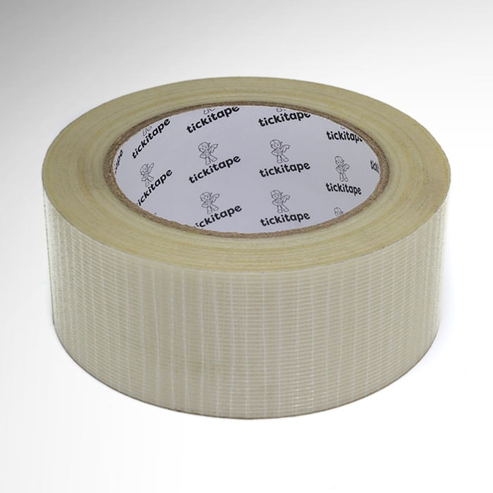 AS161 X Weave, cross weave reinforced glass filament strapping tape