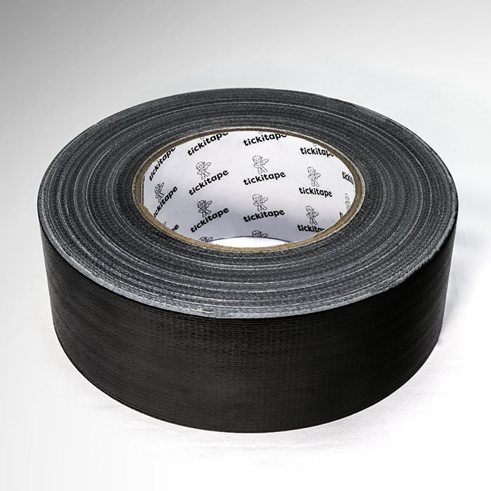 AS225 50mm x 50M Low residue quality premium plus cloth, duct, polycloth, gaffer tape