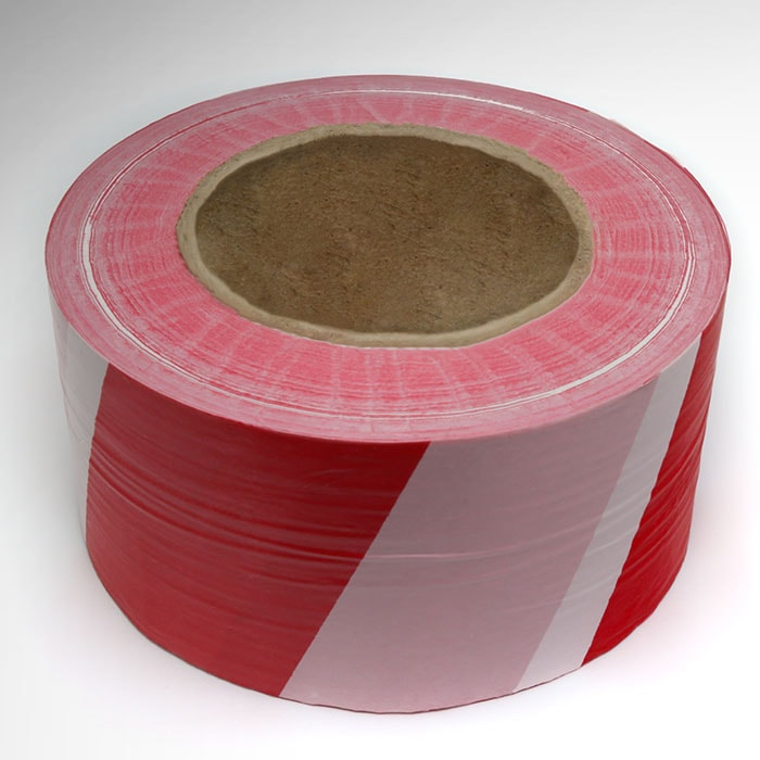 AS240 Hazard warning barrier tape non adhesive