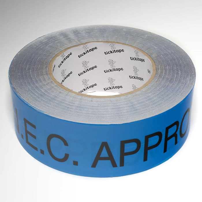 AS365 48mm x 50M Double sided NEC approved tape, low tack/high tack, low residue carpet tape