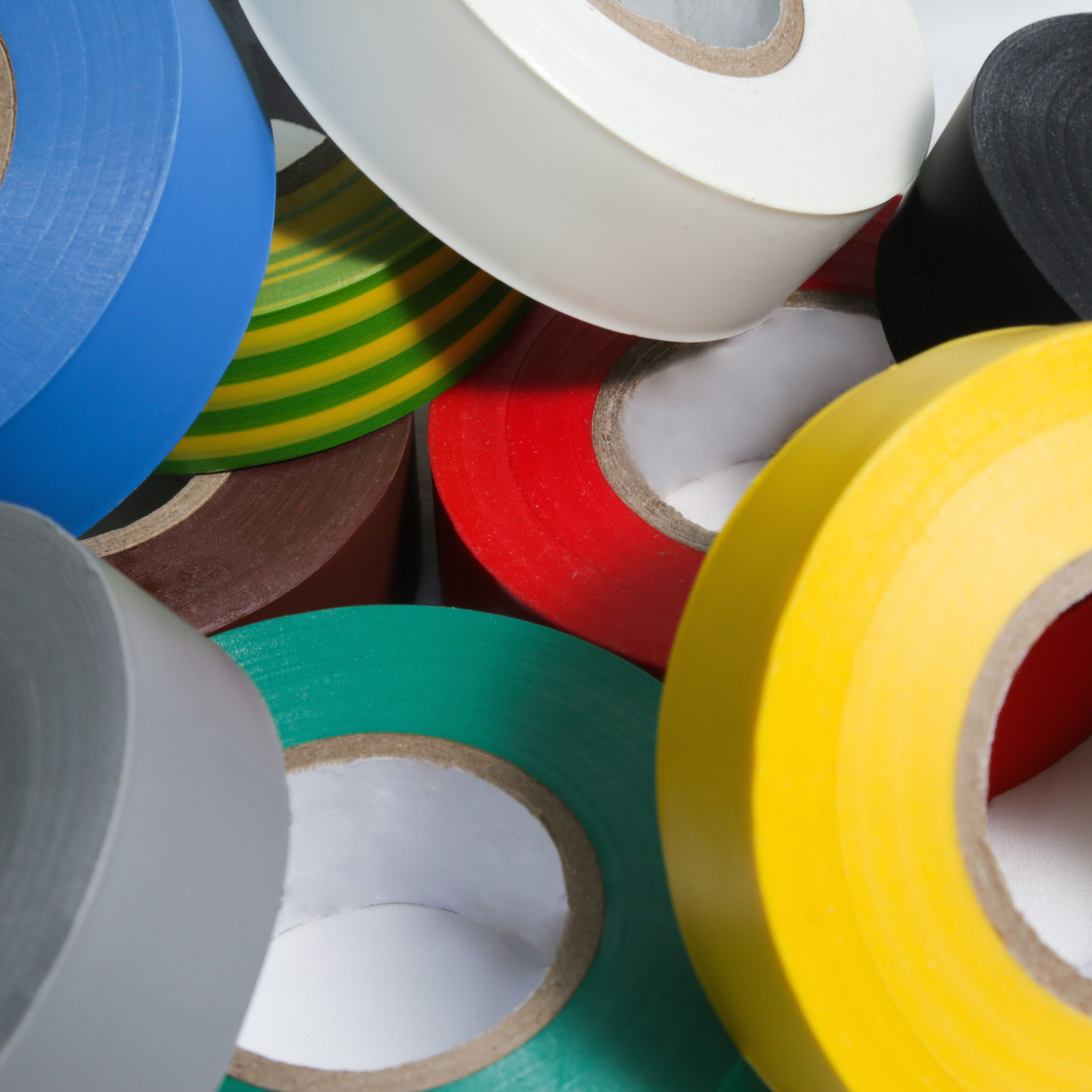 AS401 PVC electrical insulation tape, BS spec and flame retardant