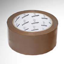 AS147 48mm x 66m Vinyl packaging tape solvent adhesive