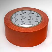 AS215 Extra strong Orange Builders Tape 48mm