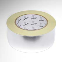 AS252 Self adhesive aluminium foil tape with liner 40 micron 45m