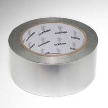 AS257 Self adhesive aluminium foil tape without liner 40 micron